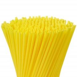 Parti Dünyası - Sarı Renk Pipet 100 Adet