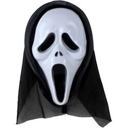 Parti Dünyası - Scream Maske Beyaz Renk