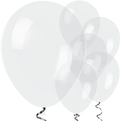 Şeffaf Latex Balon 10 adet