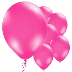 Parti Dünyası - Şeker Pembe 10 Lu Latex Balon