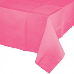 Parti Dünyası - Şeker Pembesi Masa Örtüsü 274 cm X 137 cm ebadında