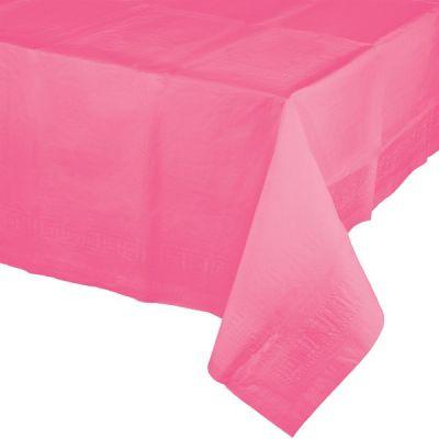 Şeker Pembesi Masa Örtüsü 274 cm X 137 cm ebadında