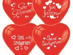Parti Dünyası - Seni Seviyorum 10 Lu Balon