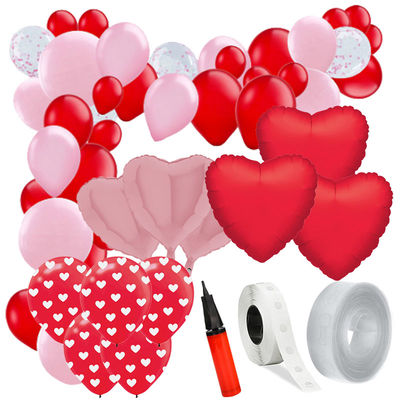 Sevgililer günü Zincir Balon Yapım Seti
