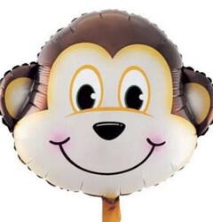 Parti Dünyası - Sevimli Maymun Folyo Balon 45 cm