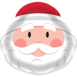 Parti Dünyası - Sevimli Noel Baba Tepsi