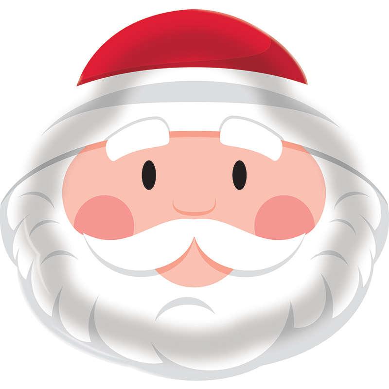 Sevimli Noel Baba Tepsi