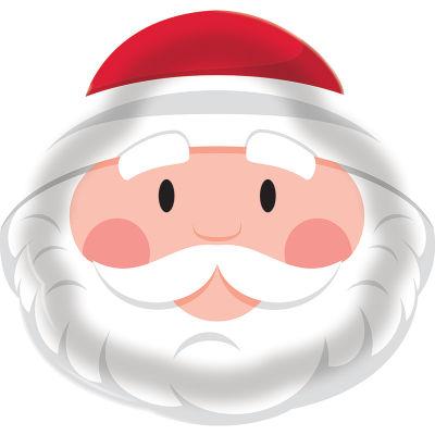 - Sevimli Noel Baba Tepsi