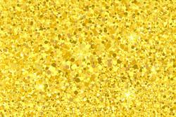 Parti Dünyası - Simli Altın Renk Konfeti 20 Gr
