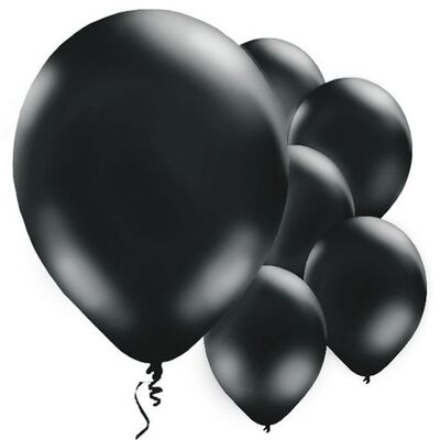 Siyah 10 Adet Balon