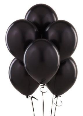 - Siyah 100 Lü Latex Balon