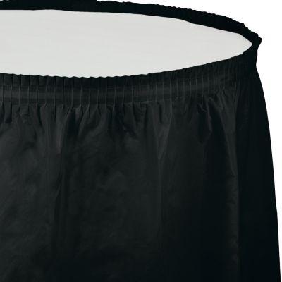 Siyah Masa Eteği 74 x 426 cm
