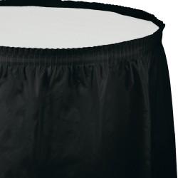 Parti Dünyası - Siyah Masa Eteği 74 x 426 cm