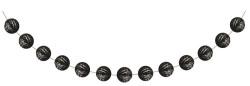 Parti Dünyası - Siyah Mini Toplar Garlent 275 cm