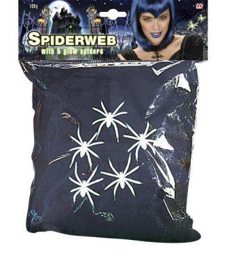 Siyah Örümcek Ağı ve Yeşil Örümcekler 100 Gr