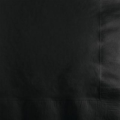 Siyah Peçete 20 Adet