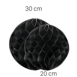 Parti Dünyası - Siyah Renk Petek Süs Seti 2 Adet 30-20 cm