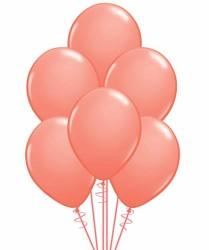 Parti - Somon Renk 100 Lü Latex Balon