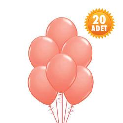 Parti Dünyası - Somon Renk 20 Li Latex Balon