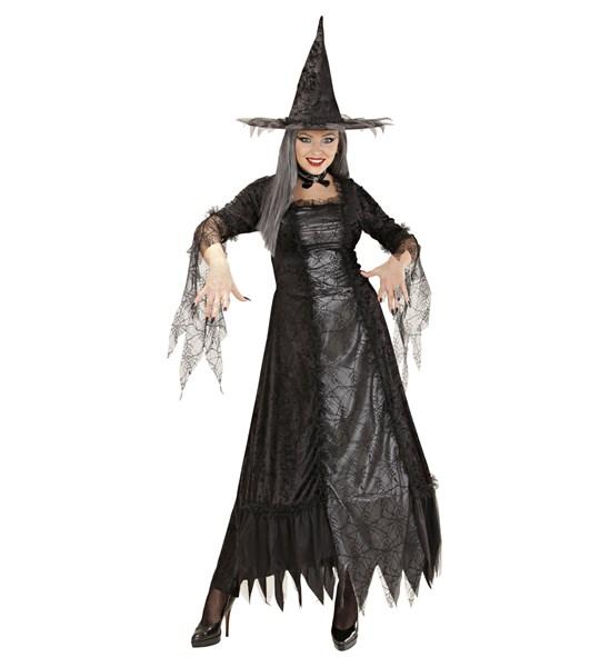 Spider Kız Yetişkin Cadı Kostümü