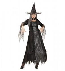 Parti Dünyası - Spider Kız Yetişkin Cadı Kostümü