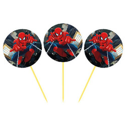 Parti Dünyası - Spiderman 12 Li Kürdan