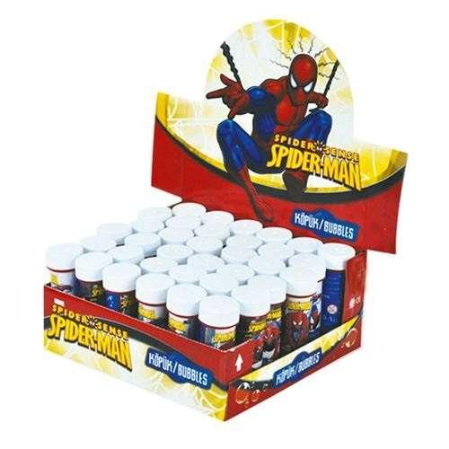 Spiderman Hediyelik Köpük Baloncuk 6 Adet