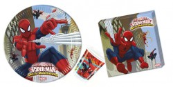 - Spiderman SUPER Paket 24 Kişilik