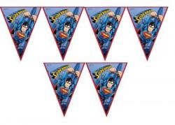 Parti Dünyası - Superman Bayrak Afiş