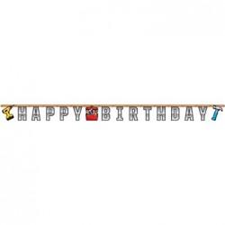 Parti Dünyası - Tamirci Partisi Happy Birthday Harf Afiş