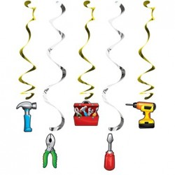 - Handyman Partisi Süs Dalgası 5 Adet