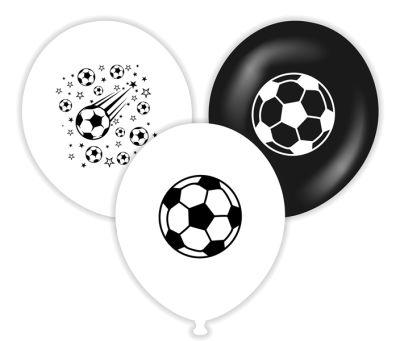 Taraftar Futbol Baskılı Latex Balon 10 Adet