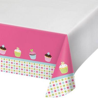 Tatlı Cupcake Masa Örtüsü