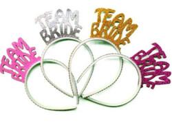 Parti Dünyası - Team Bride Simli Pembe Taç