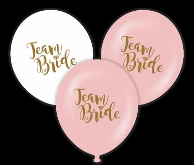 Team Bride Temalı Baskılı Balon 6 Adet