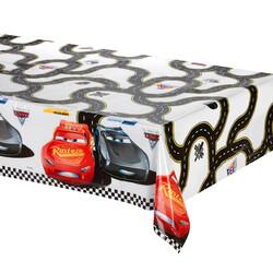 Parti Dünyası - Arabalar Plastik Masa Örtüsü120 x180 cm