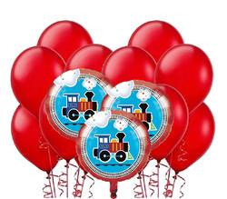 Parti Dünyası - Trenlerim Balon Demeti 23 Adet