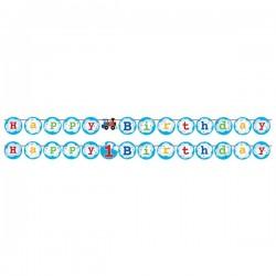 Parti Dünyası - Trenlerim Kurdelalı Harf Afiş