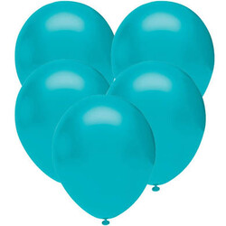 Parti Dünyası - Turkuaz 10 Lu Latex Balon