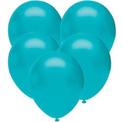 Parti Dünyası - Turkuaz 100 Lü Latex Balon