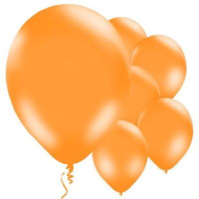 Turuncu Balon 10 Adet