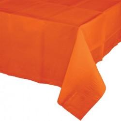 - Turuncu Masa Örtüsü 274 cm X 137 cm ebadında