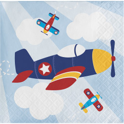 Parti Dünyası - Uçaklar Partisi 16 lı Küçük Peçete