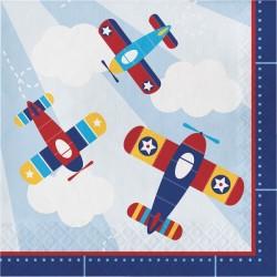 Parti Dünyası - Uçaklar Partisi 16 lı Peçete