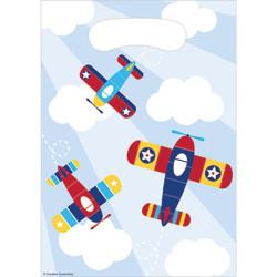 - Uçaklar Partisi Hediye Poşeti 8 Adet