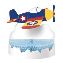 Parti Dünyası - Uçaklar Partisi Masa Orta Süsü