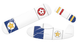 Parti Dünyası - Uçaklar Partisi Uçak Yapma Oyunu 6 Kişilik
