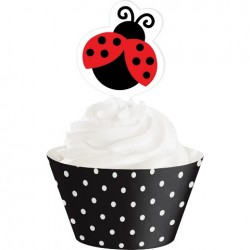 Converting - Uğur Böceği Partisi Cup Cake Süsü