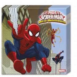 Parti Dünyası - Ultimate Spiderman 20 li Peçete