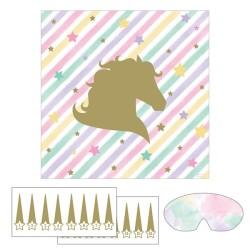Parti - Unicorn Boynuz Yapıştırma Oyunu 8 Kişilik